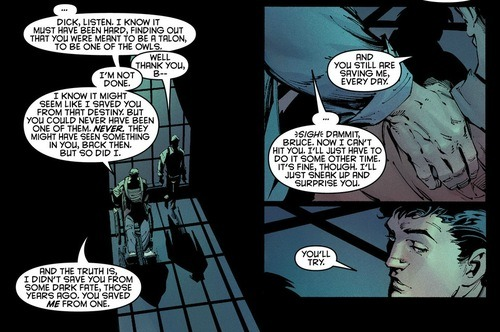 Dick Saves Bruce Every Day