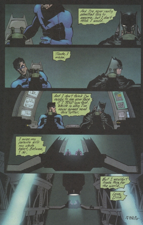Dick's Letter To Bruce
